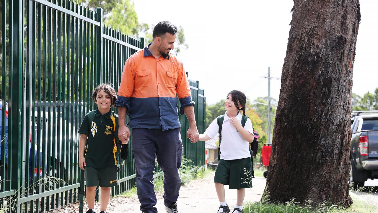 Fifteen per cent of primary school students attended classes for the first day of term two. Picture: Rohan Kelly
