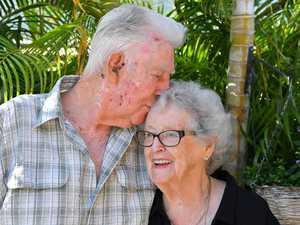 'You don't give up': Couple's 65-year love story