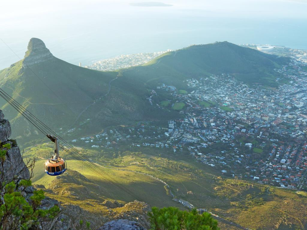 Forget the hike, let's take the cable car.
