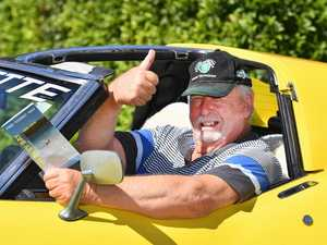 FREEDOM: Hot rod driver ready to get on road again