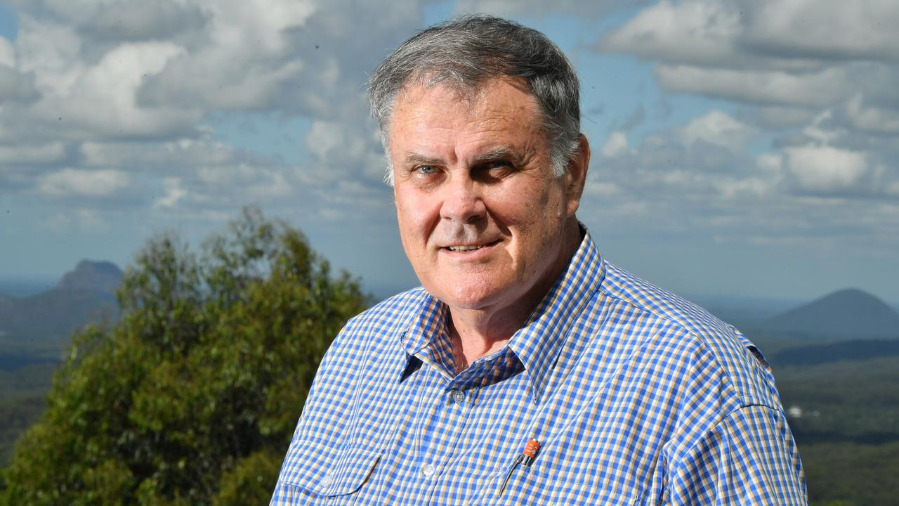 HINTERLAND: Winston Johnston is the new Division 5 councillor, he is returning to local government after 12 years focusing on his general insurance business. Photo: John McCutcheon