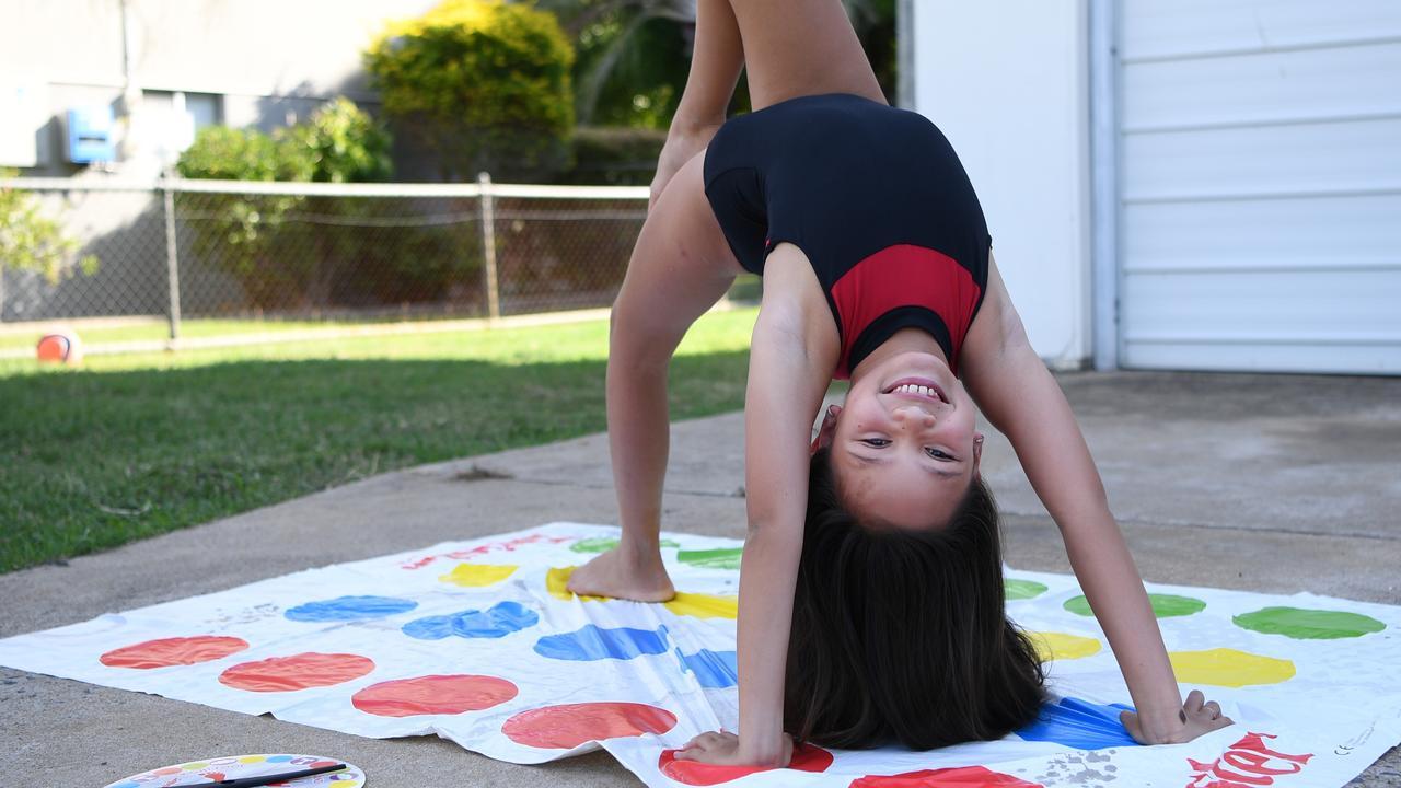 Rhianna Llewellyn from Dance Star Studio having fun in her Wandal driveway