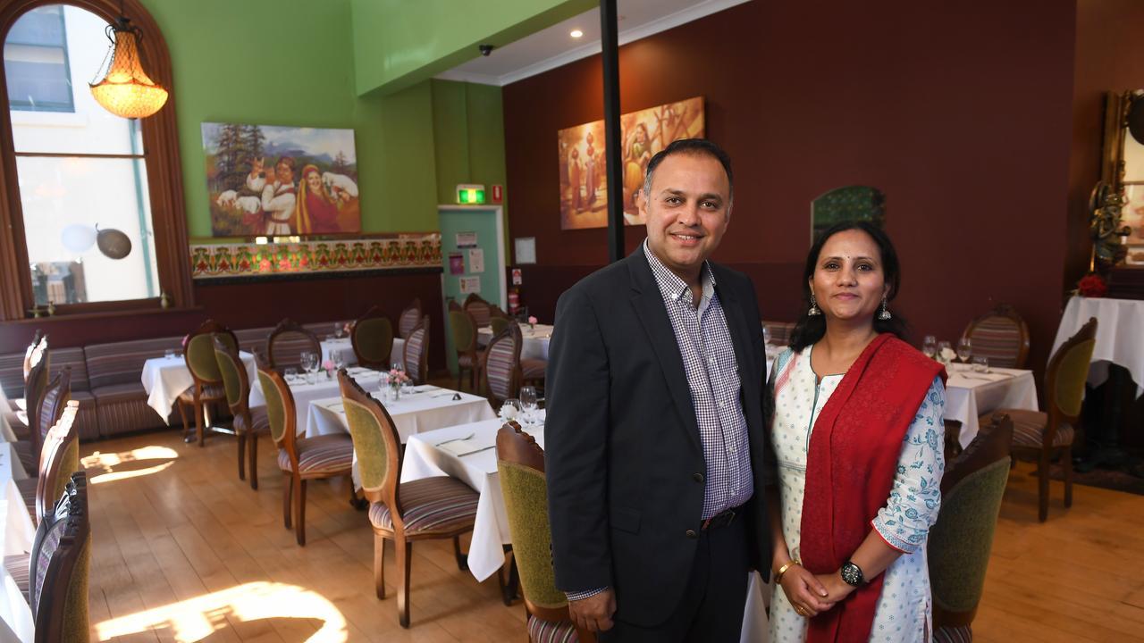 Raj and Priyanka Sharma of Indian Mehfil.
