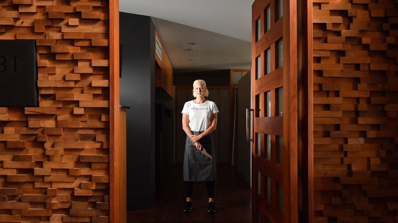Danielle Gjestland, owner of Wasabi Restaurant and Bar, is having to make major changes to life and the business, after the virus threw her plans out the window. Photo: John McCutcheon