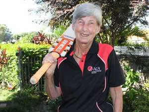 Bowled over by history-maker mentor