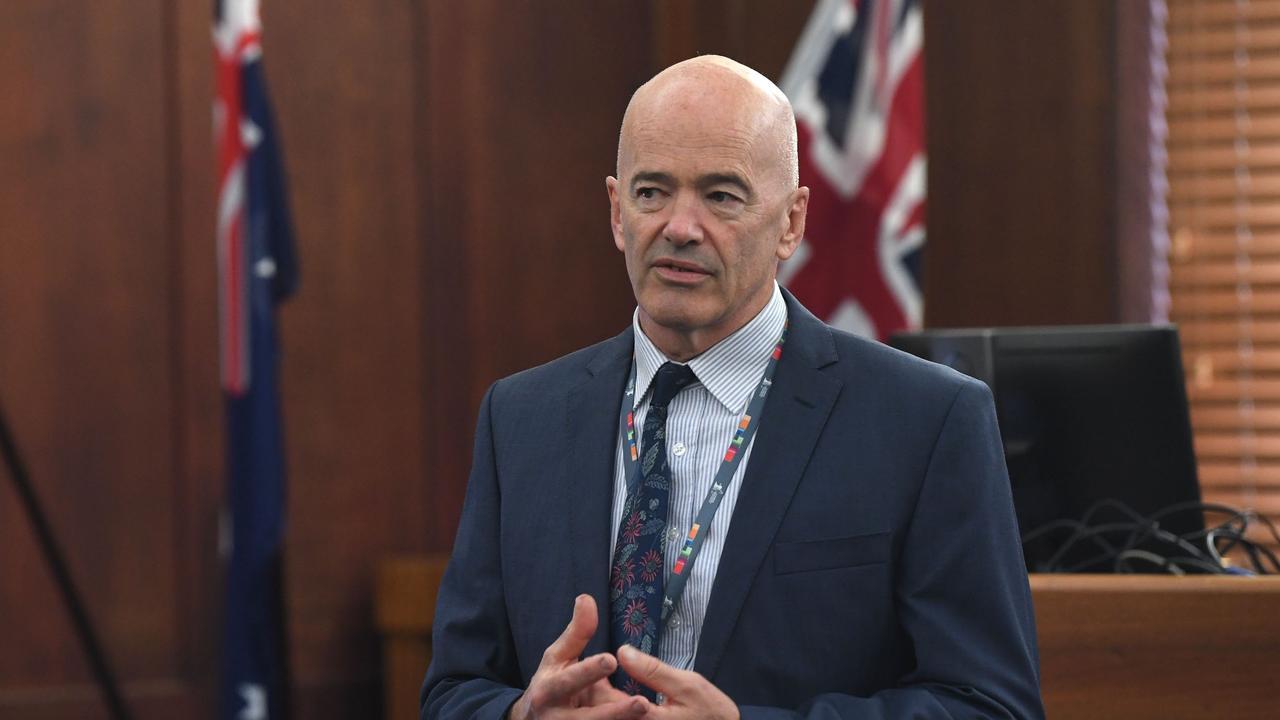 Former Gympie Regional Council CEO Bernard Smith.