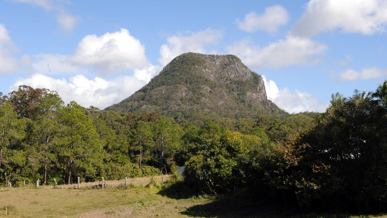 Views of Mt Cooroora.