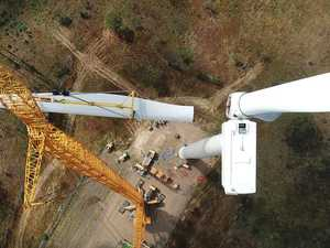 PICS: All turbines completed at Coopers Gap wind farm