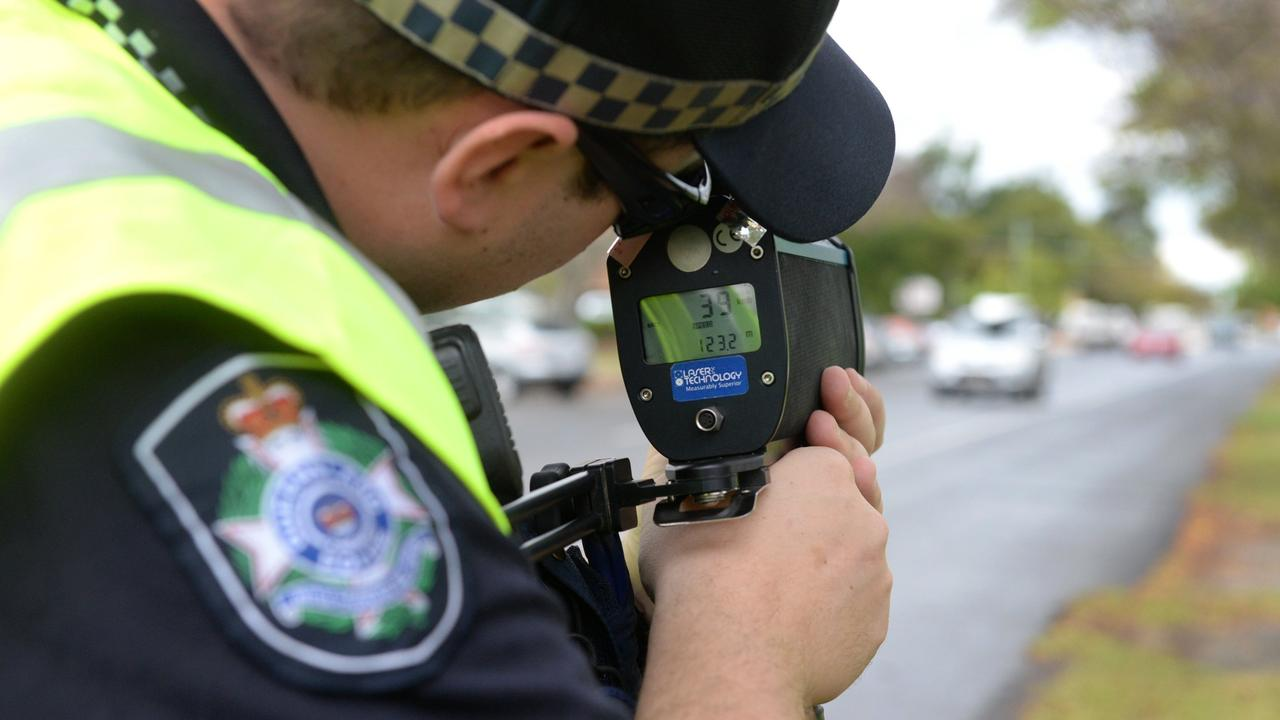 "SPEEDING: Police officers reported ""disturbingly high speeds"" across the state in the past month."