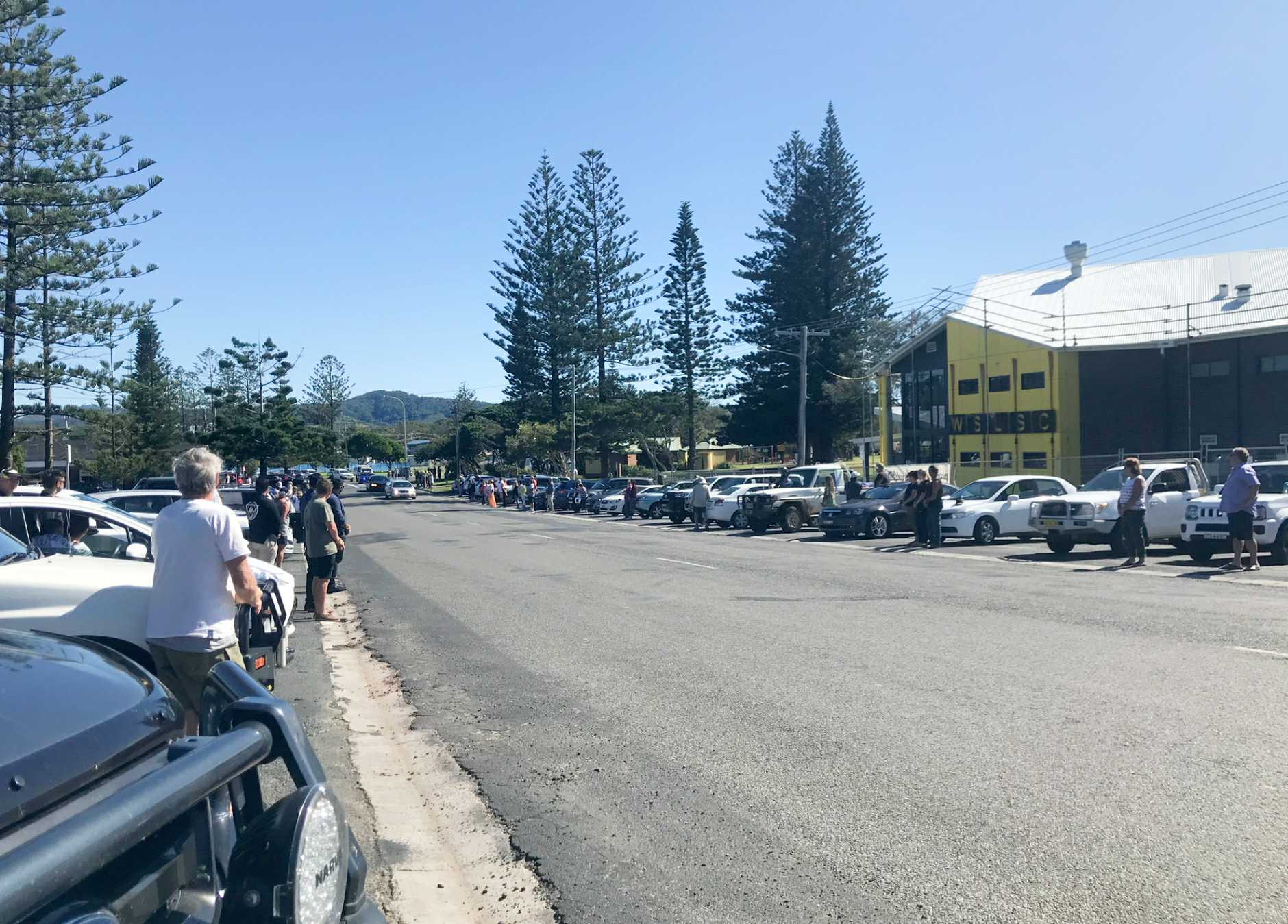 Woolgoolga residents on Friday morning lined the streets to farewell Dr Amarjit Singh More.