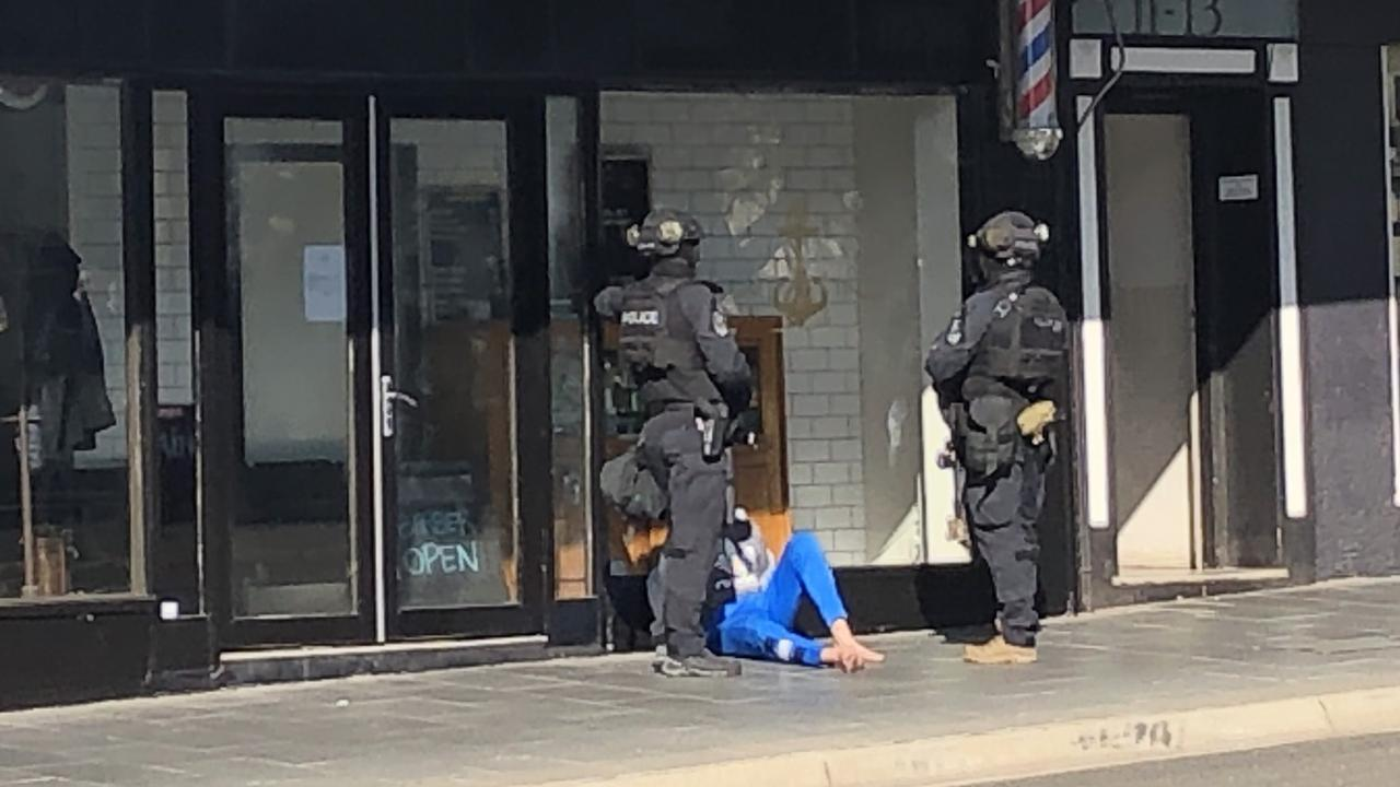 A man is arrested in Coogee this morning.