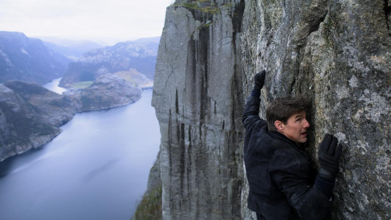 Tom Cruise as Ethan Hunt in Mission Impossible – Fallout.