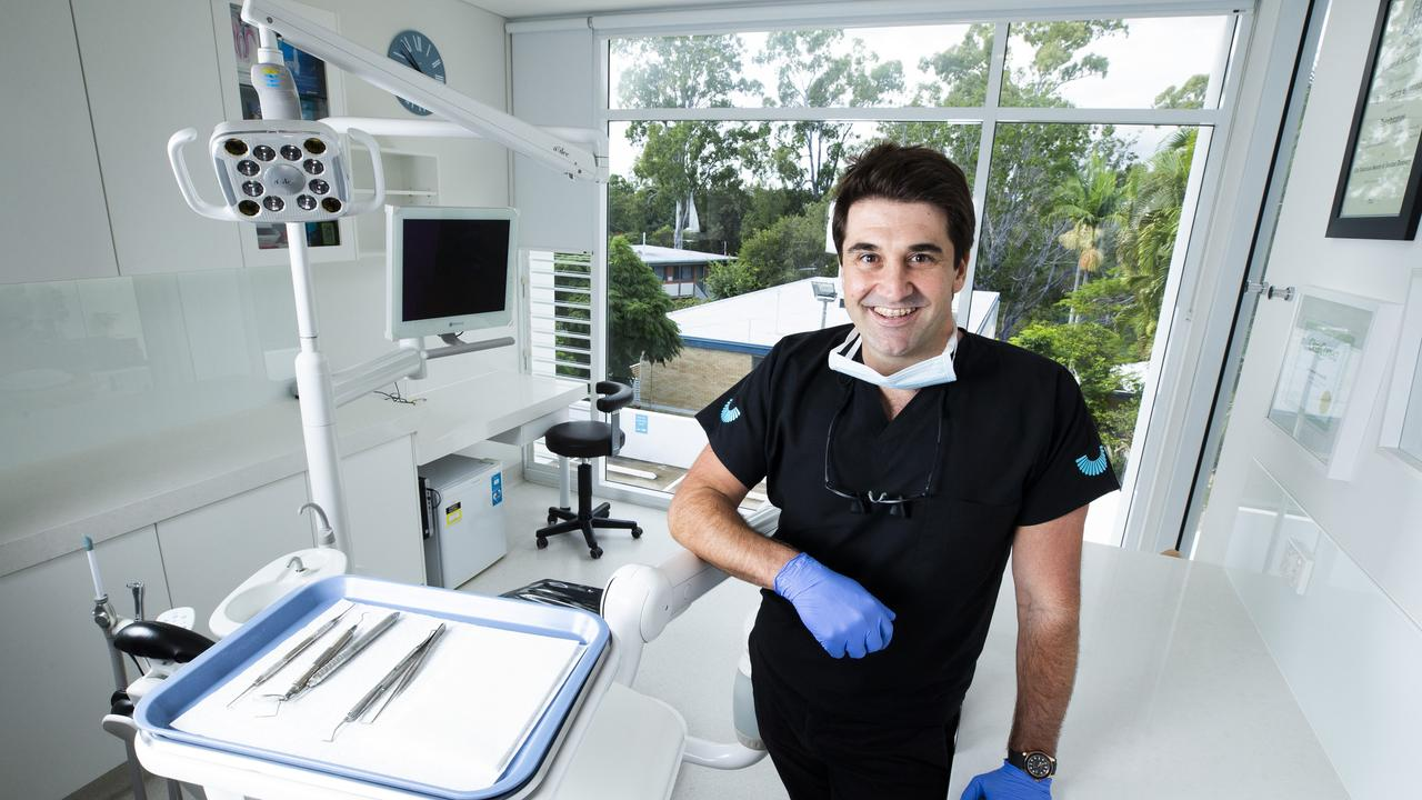 Dentist Dr. Angus Quinn. Picture: Renae Droop