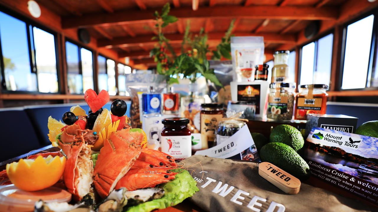 Produce and products from the Tweed whioch feature in the Tweed Taste and Mt Warning Tours new virtual tour package. Pic: SCOTT POWICK