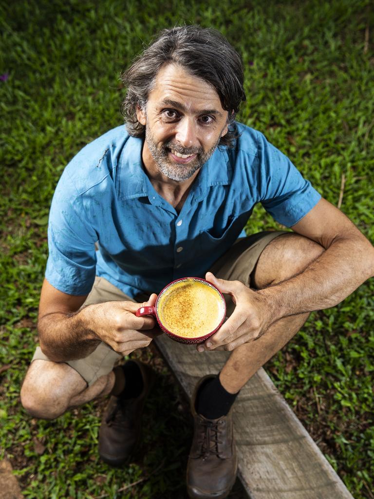 Chai tea master Adam Donoghue. Picture: Lachie Millard