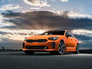 Kia's new top-shelf performance car emerges