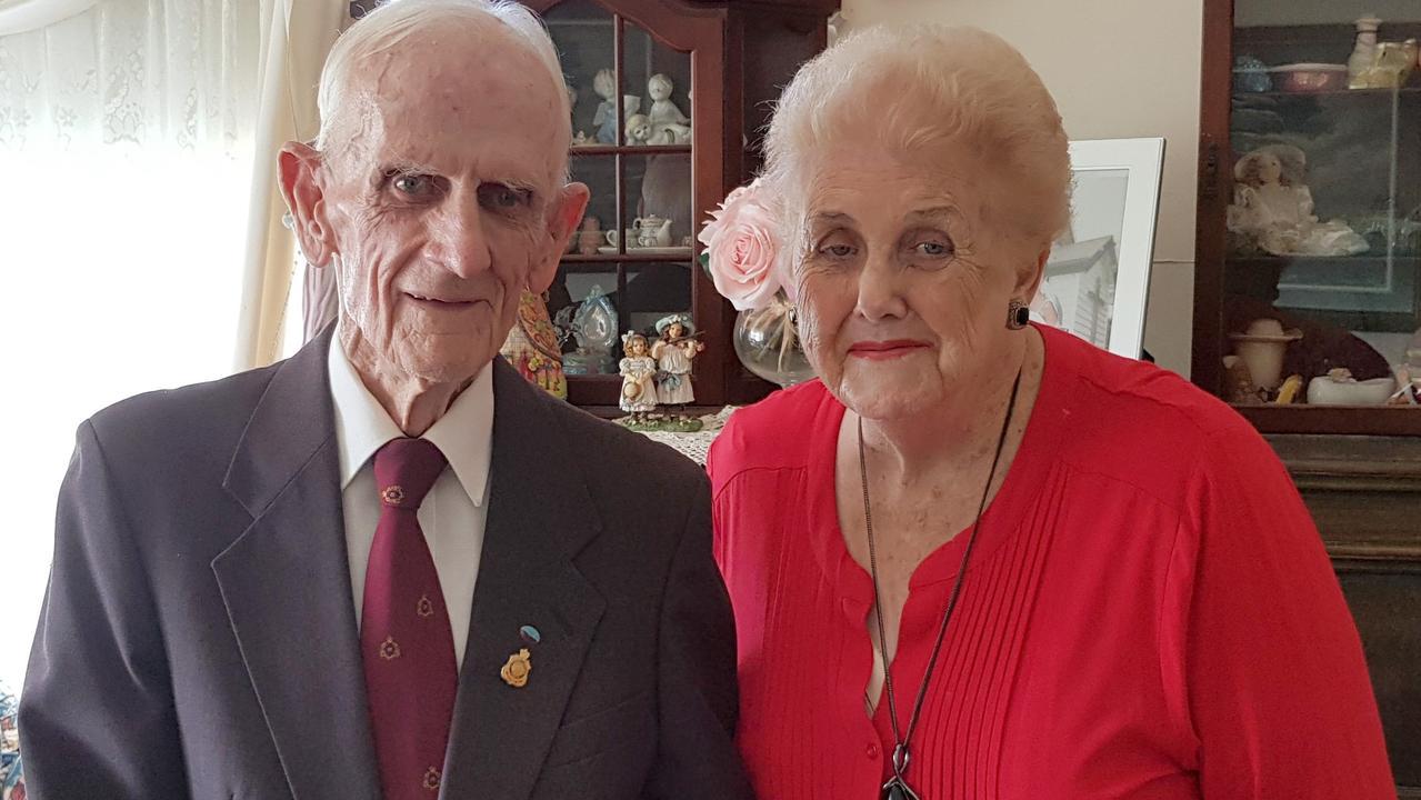 Eric and Elaine celebrate their 60th wedding anniversary