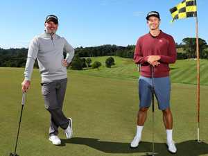 Adam Scott savours Maleny live stream with mate