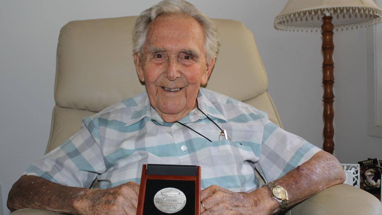 Nambour's Gerry Zwart (OAM) has been honoured by Israel 75 years after his family protected Jews from the Nazis in the Netherlands during World War II.