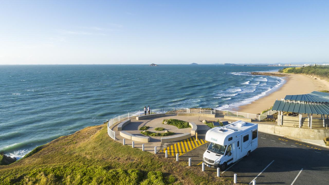 The Lamberts Beach lookout in Mackay provides stunning vistas of the ocean. Contributed: Mackay Tourism