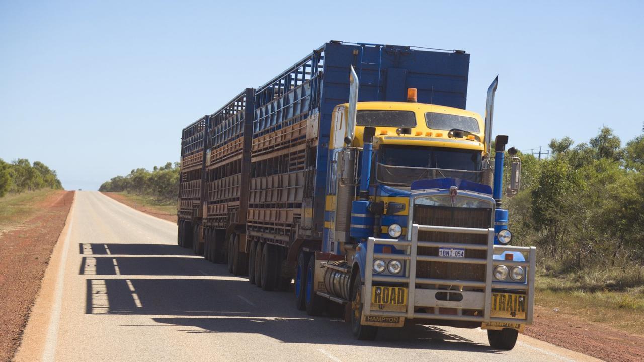cattle truck.