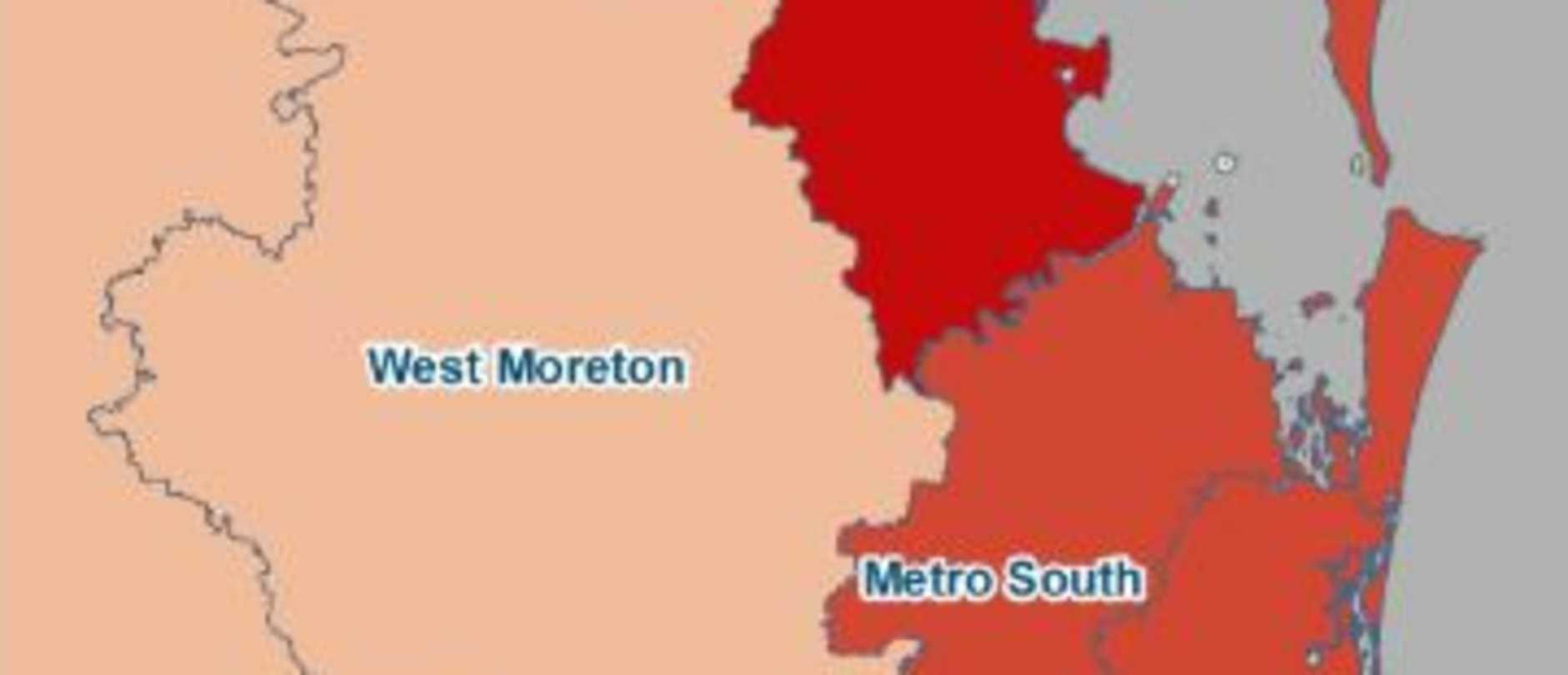 Coronavirus hot spots around Queensland. Picture: supplied