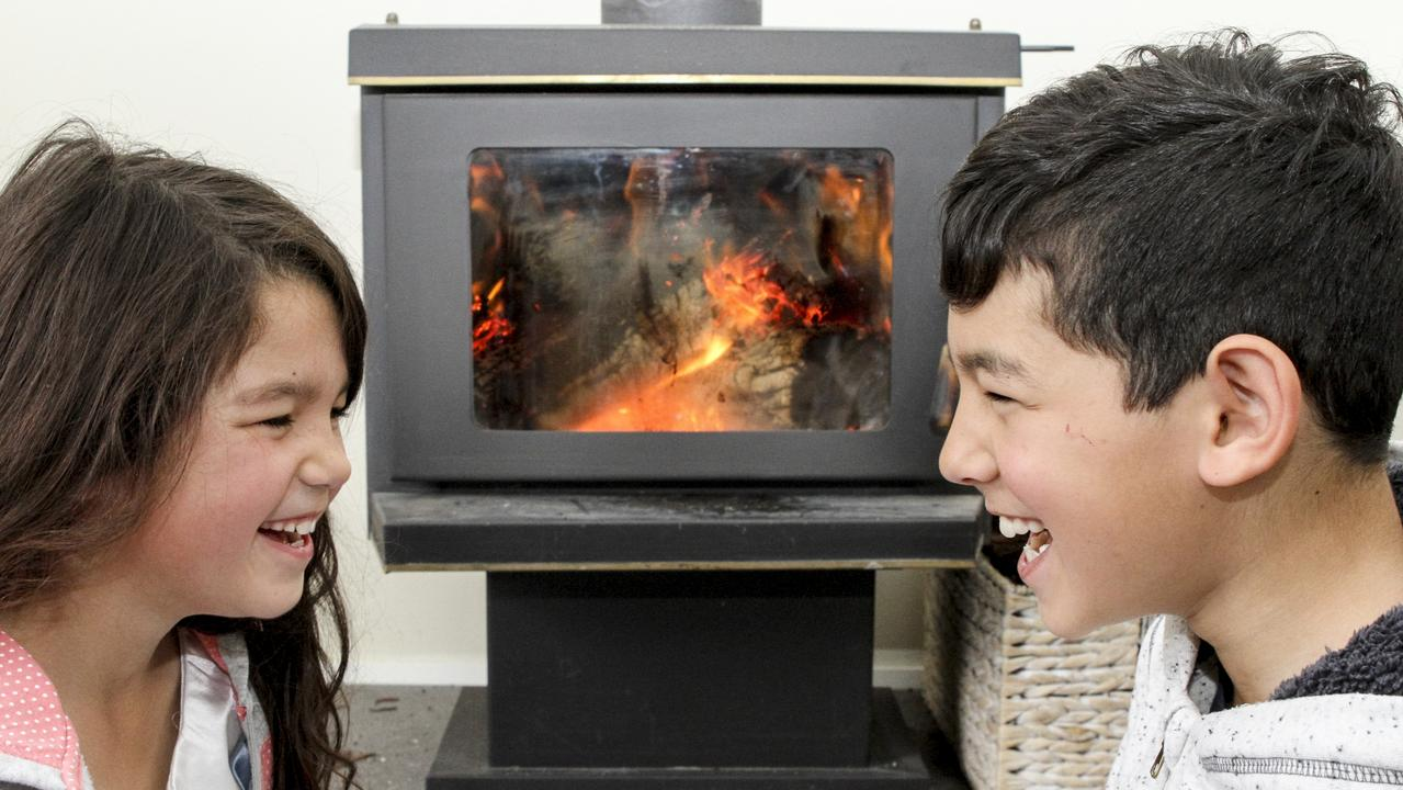 Get those wood fire heaters going this weekend.