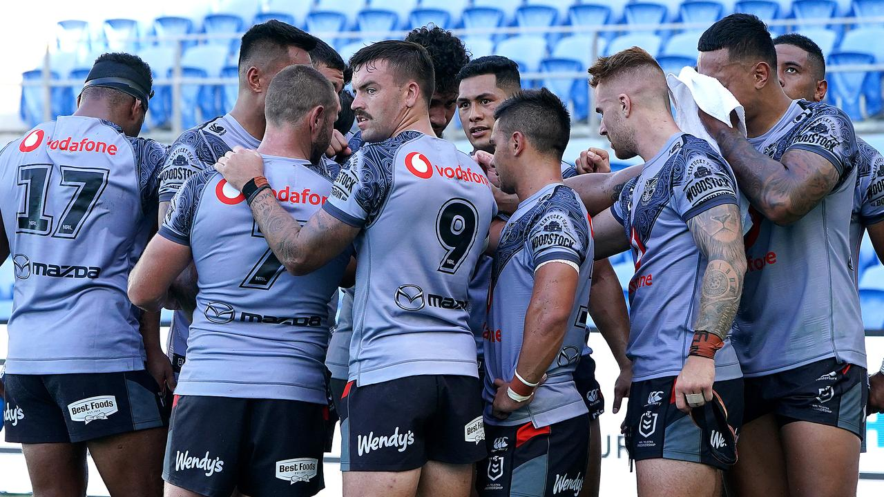 Warriors players will arrive in Australia on Sunday. Picture: Dave Hunt/AAP