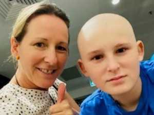 Son's laughter sparks hope in tough cancer battle