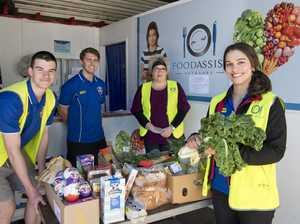 Mountaineers help Foodassist