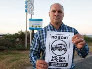 """NO BOAT, NO 4X4 ACCESS"": Fisherman's not a 4WD beach"
