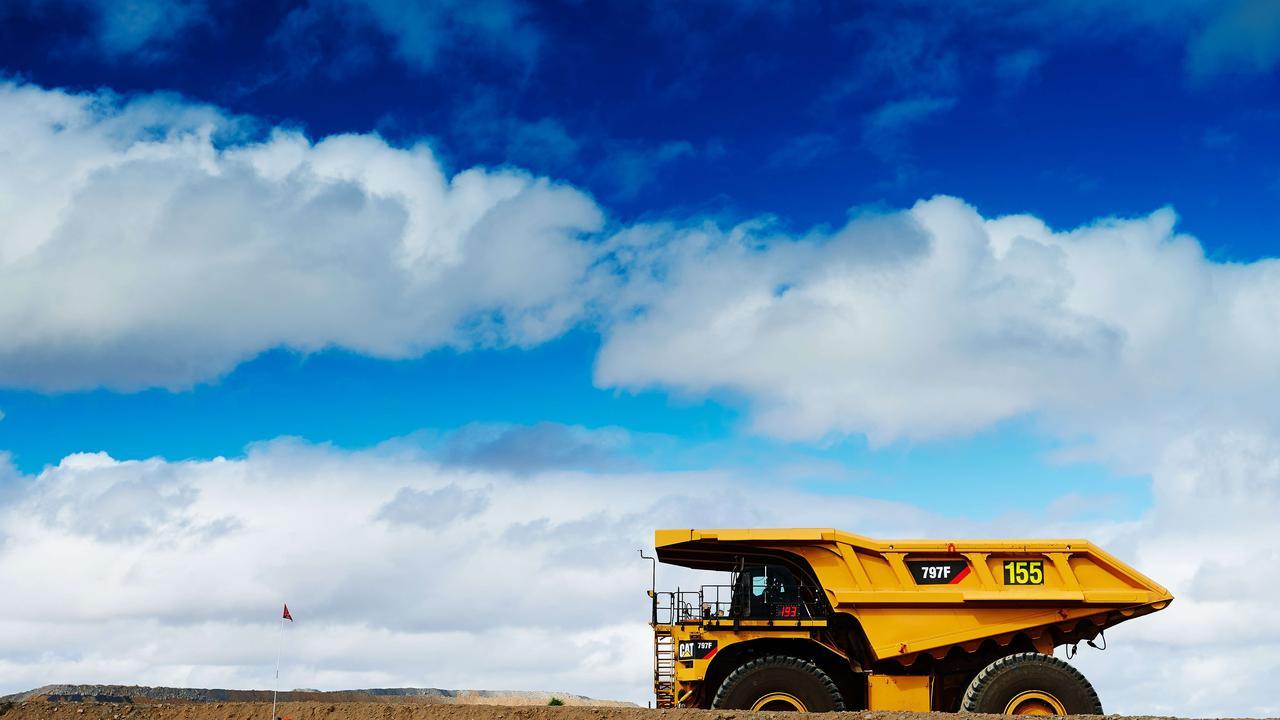 Daunia Mine operations in central Queensland. Picture: BHP coal mining coal mine