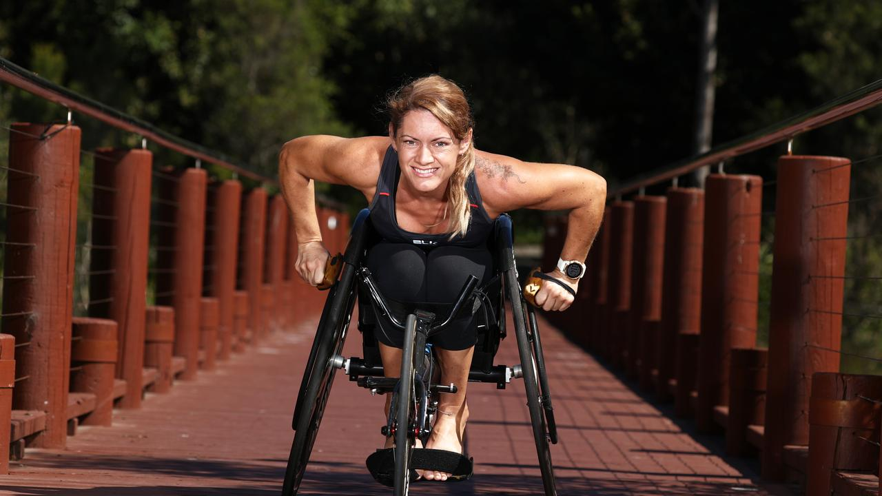 Ms Price is now a high-level athlete. Photograph : Jason O'Brien