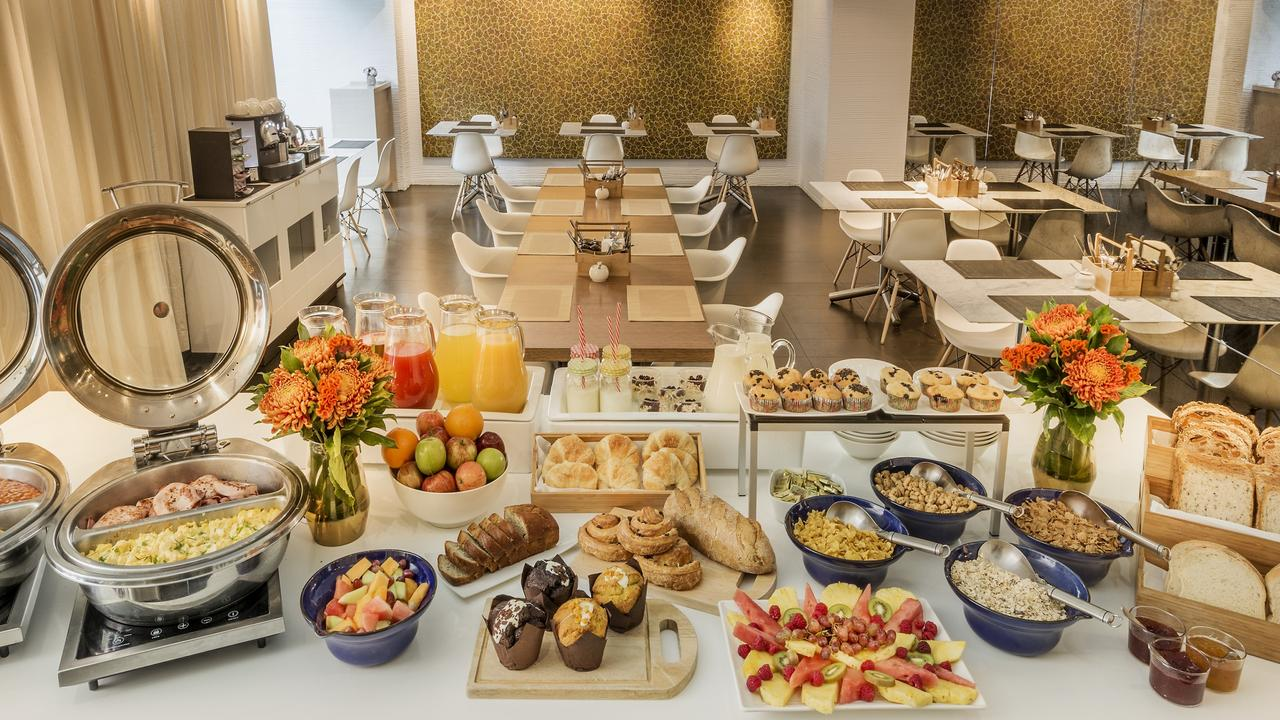 Even adults still get excited by a breakfast buffet. Or, at least, they used to.