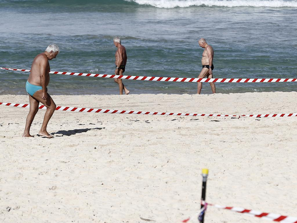Governments have had a number of issues health restrictions at our beaches. Picture: Getty
