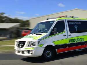 Man in hospital after boat motor ignites