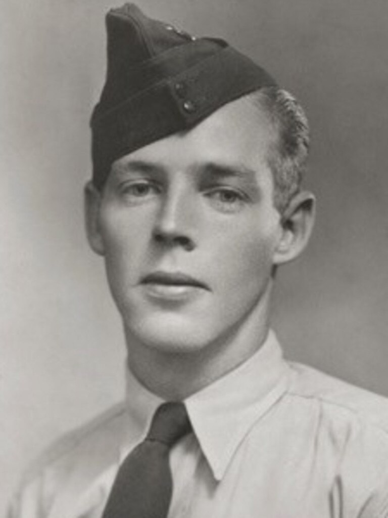 George McBride joined the Royal Australian Air Force in 1940.