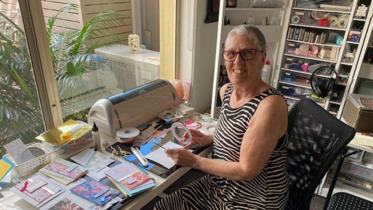 Suzie Ford loves making her cards for others to enjoy.