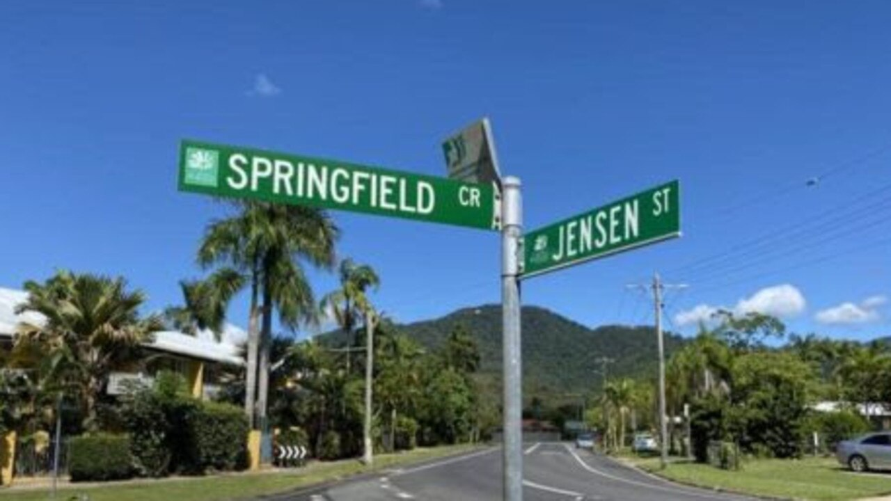 Springfield Crescent in Manoora, Cairns.