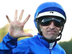 High five: Hugh without peer on track he 'couldn't stand'