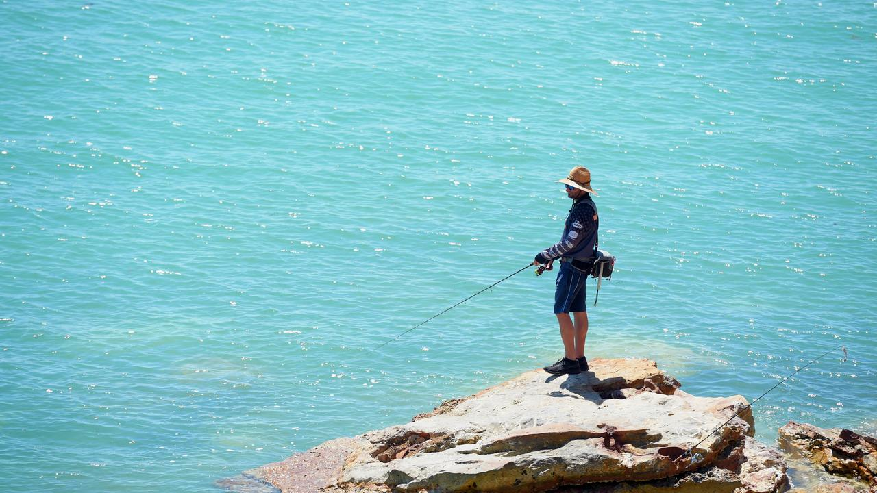 Territorians can now go fishing, boating and sailing with others. Picture: AAP/Patrina Malone