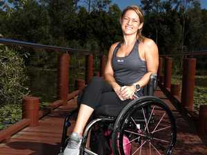 From 'bed bound' to renowned wheelchair athlete