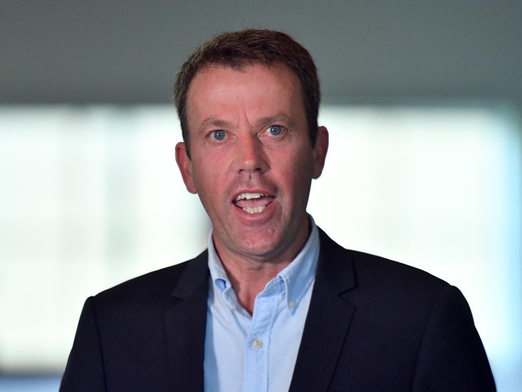 Federal Education Minister Dan Tehan has withdrawn remarks over Victorian Premier Daniel Andrews' leadership. Picture: AAP