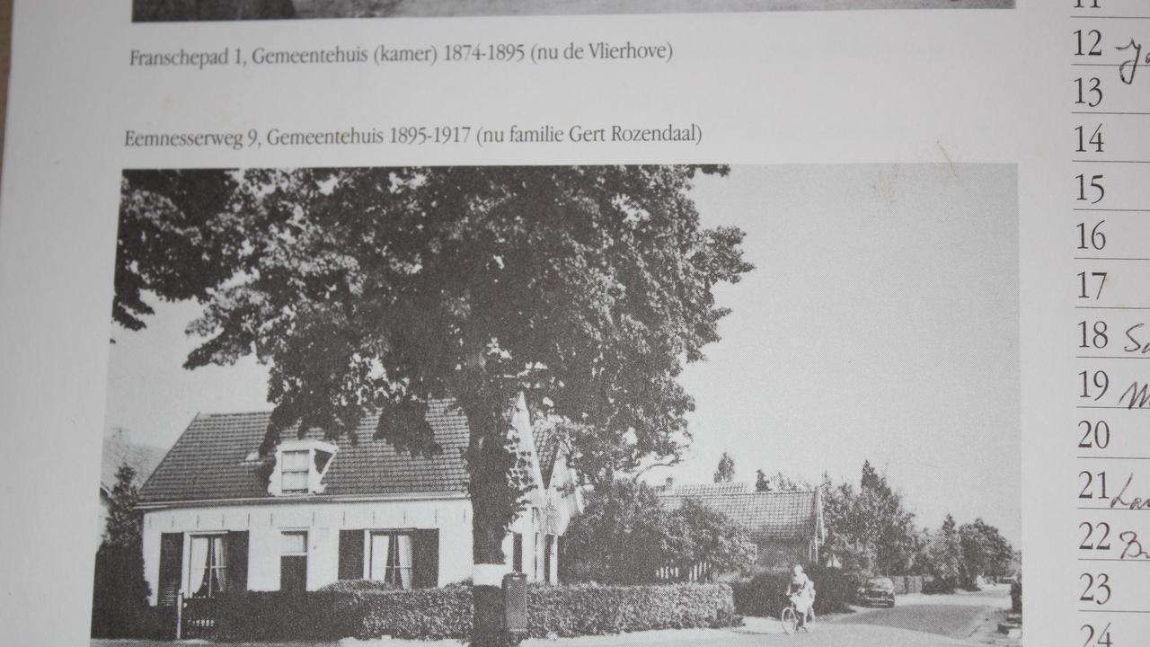 A house in Gerry Zwart's village.