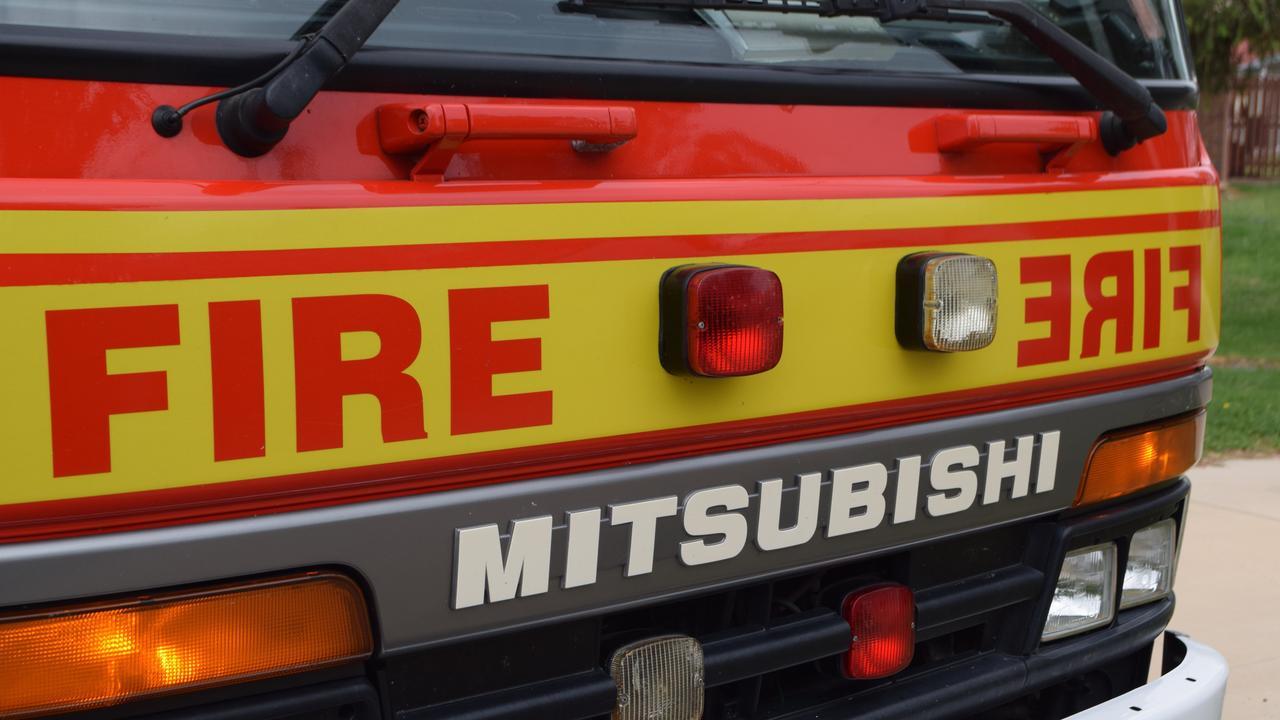 Fire crews are responding.