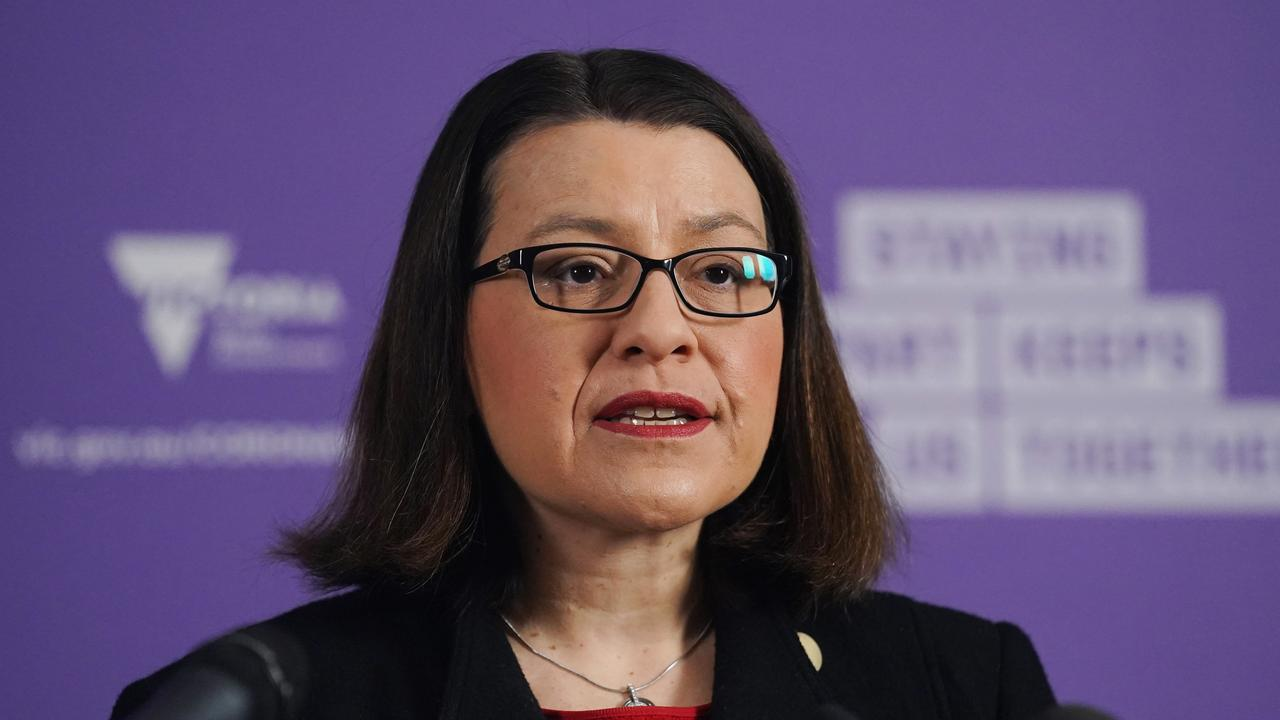 Victorian Minister for Health Jenny Mikakos has confirmed a teacher at a Melbourne primary school has tested positive for coronavirus. Picture: AAP