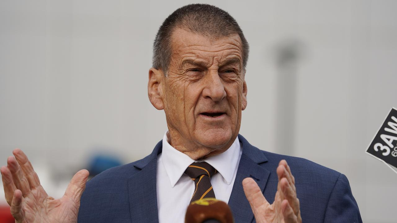 Jeff Kennett has responded to Nat Fyfe's comments. Picture: AAP Image/Stefan Postles
