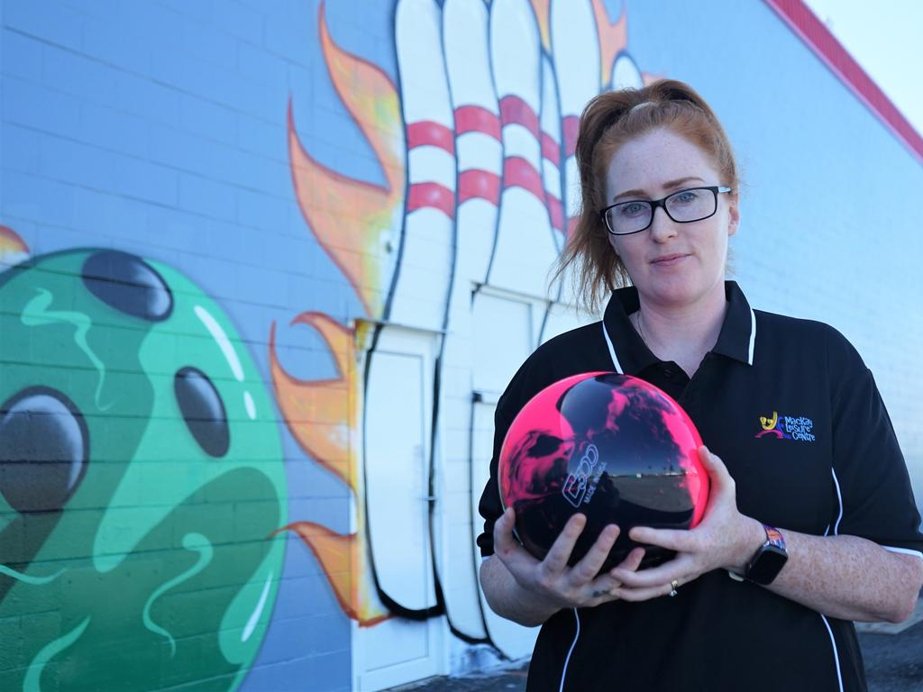 Co-owner of Mackay Leisure Centre Anna Elfverson is fed up with the huge council rates bill she has to pay due to being located near Paget.