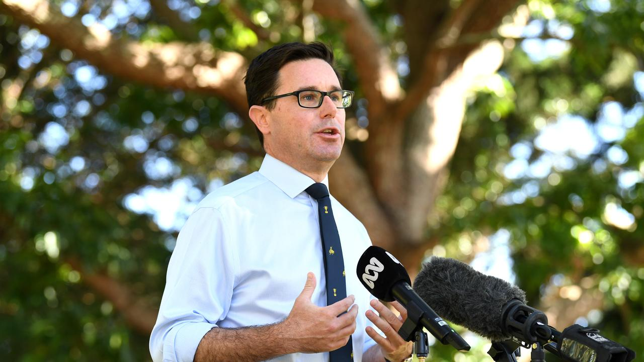 Maranoa MP David Littleproud has pledged $1.2m for Maranoa emergency relief providers. (AAP Image/Dan Peled) NO ARCHIVING