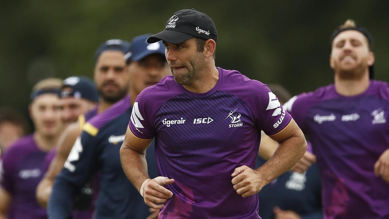 The Storm may yet have to be based in NSW for the season restart.